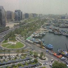 Photo taken at Dubai Chamber of Commerce & Industry غرفة تجارة وصناعة دبي by Chuck H. on 4/24/2013
