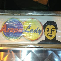 Photo taken at The Arepa Lady by Cynthia G. on 8/10/2013