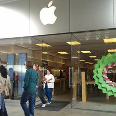 Photo taken at Apple Store, Century City by Michael M. on 12/28/2012