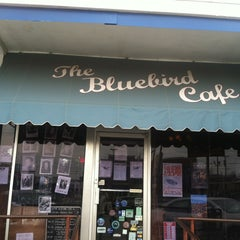 Photo taken at Bluebird Cafe by larry m. on 3/30/2013