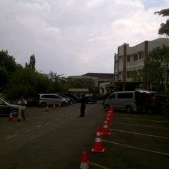 Photo taken at Mentari International School Bintaro by Farid A. on 7/25/2013