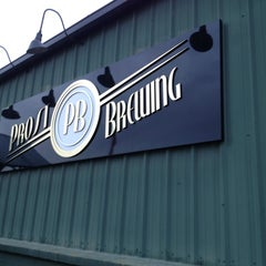 Photo taken at Prost Brewing by Matt E. on 3/18/2013