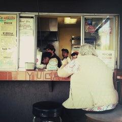 Photo taken at Yuca's Taqueria by Tatum L. on 4/25/2013