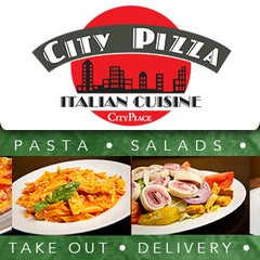 Photo taken at City Pizza Italian Cuisine by City Pizza Italian Cuisine on 8/6/2013