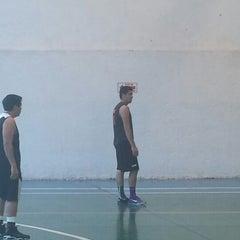 Photo taken at Deportivo Joaquín Capilla by Kar S. on 7/20/2014