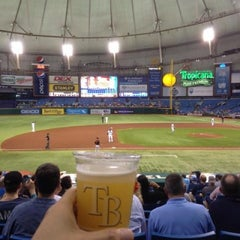 Photo taken at Tropicana Field by Jay on 6/7/2013