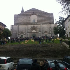 Photo taken at Chiesa di San Fortunato by Federico C. on 1/4/2014