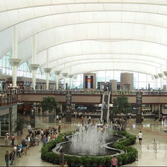 Photo taken at Denver International Airport (DEN) by Rakan S. on 6/9/2013