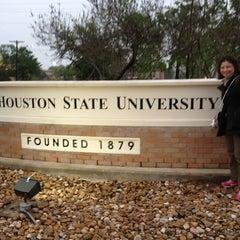 Photo taken at Sam Houston State University by Sasitorn W. on 4/3/2013