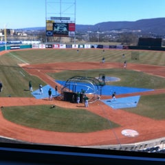 Photo taken at Medlar Field at Lubrano Park by Chad M. on 4/6/2013