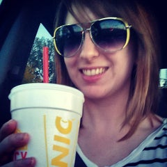Photo taken at SONIC Drive In by Catherine B. on 9/27/2014