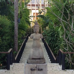 Photo taken at Nakamanda Resort And Spa Krabi by Guy B. on 3/6/2013
