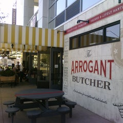 Photo taken at The Arrogant Butcher by ✈--isaak--✈ on 3/4/2011