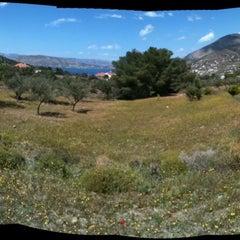 Photo taken at Καμπόλι by Demetris P. on 4/15/2012