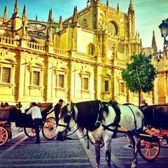 Photo taken at Sevilla by Sarah Y. on 10/4/2012