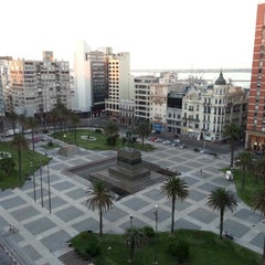 Photo taken at Plaza Independencia by Santiago T. on 12/23/2012