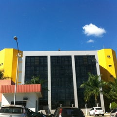 Photo taken at Pontifícia Universidade Católica de Goiás (PUC Goiás) by Nathália C. on 6/20/2013