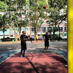 Photo taken at Chrystie St. Courts by Dev A. on 7/14/2013