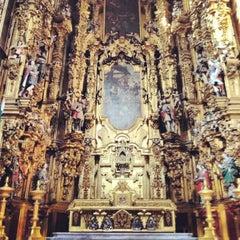 Photo taken at Catedral Metropolitana de la Asunción de María by Vero C. on 2/16/2013