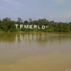 Photo taken at Tepi Sungai Termeloh by Amir E. on 7/28/2013