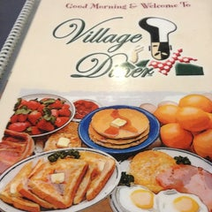 Photo taken at Village Diner by Dee H. on 6/30/2013