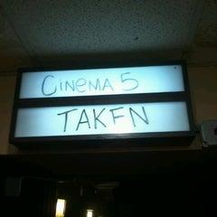 Photo taken at Center Cinema 5 by Lauren on 10/31/2012
