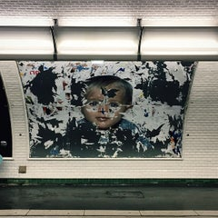 Photo taken at Métro Odéon [4,10] by Candice C. on 5/6/2015