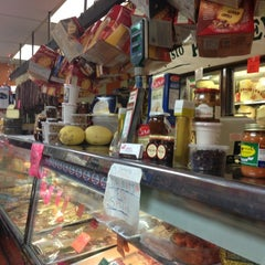 Photo taken at Sorriso Italian Pork Store by Peter S. on 12/16/2012