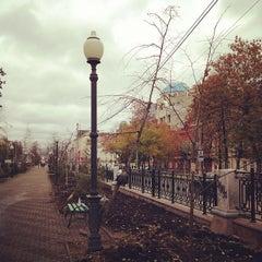 Photo taken at Остановка «Сакко и Ванцетти» by Алексей К. on 10/8/2013