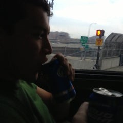 Photo taken at Lucky Star Bus by Spencer A. on 12/2/2012