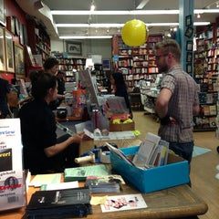 Photo taken at Book Culture by Geraldine V. on 9/19/2013