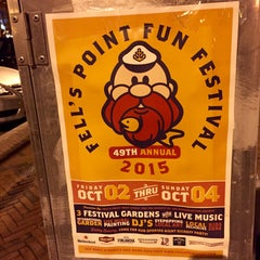 Photo taken at Fells Point by Ethan J. on 9/29/2015