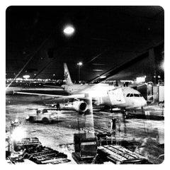 Photo taken at Montréal Int'l Airport Pierre-Elliott-Trudeau (YUL) by Marie-Eve V. on 1/1/2013