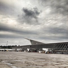 Photo taken at Aeropuerto de Bilbao (BIO) by Paul T. on 9/8/2013