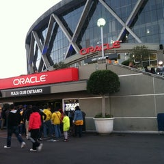 Photo taken at Oracle Arena by Jason L. on 3/9/2013