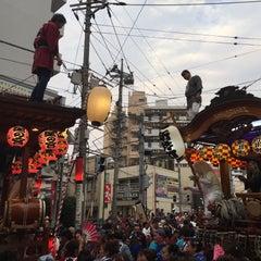 Photo taken at ファルマン通り交差点 by ma_yukikago on 10/11/2015
