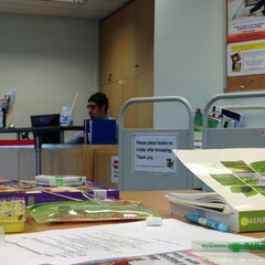Photo taken at Psb Academy Library by Panissara N. on 11/26/2012