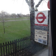 Photo taken at Finsbury Park by Saming S. on 2/9/2014