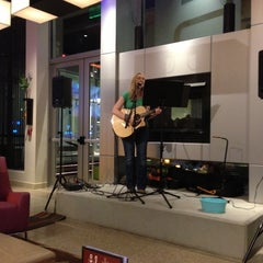 Photo taken at Aloft Charlotte Ballantyne by andrew c. on 5/15/2013