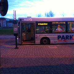Photo taken at Monks Cross Park & Ride by Chris K. on 2/24/2014