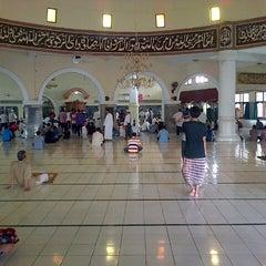 Photo taken at Masjid Agung Baitussalam by Oyi K. on 8/9/2013