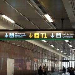 Photo taken at Terminal 1 by Amapola S. on 3/30/2013