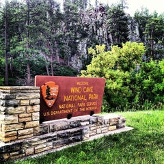 Photo taken at Wind Cave National Park by Eric F. on 6/30/2013