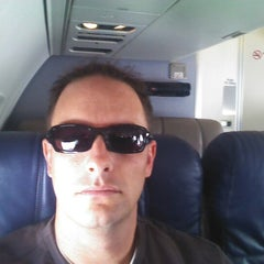 Photo taken at On a plane by Chad R. on 11/16/2012