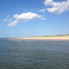 Photo taken at Fort Story Beach by Melissa A. on 6/2/2013