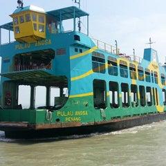 Photo taken at Butterworth Ferry Terminal (Pangkalan Sultan Abdul Halim) by Praveen K. on 7/26/2013
