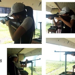 Photo taken at Perbakin Shooting Range by melztwin l. on 6/22/2014