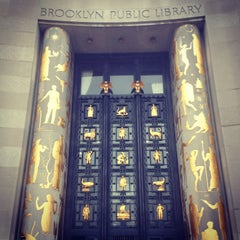 Photo taken at Brooklyn Public Library (Central Library) by Matthew M. on 2/23/2013