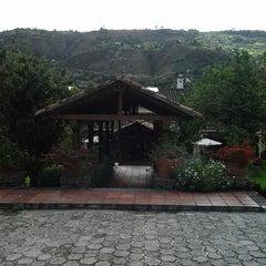 Photo taken at Hacienda Uzhupud by Luis R. on 2/18/2013