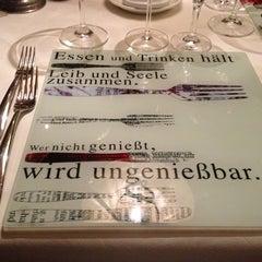 Das Foto wurde bei Restaurant Loystubn, Thermenwelt Hotel Pulverer ***** von Kurt S. am 1/28/2013 aufgenommen